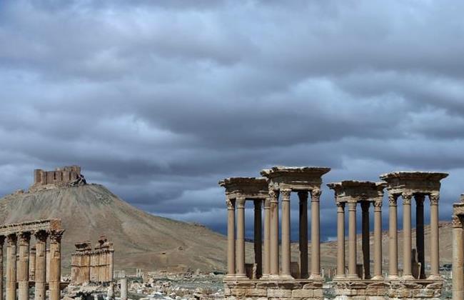 Ancient Oasis City of Palmyra. AFP PHOTO/JOSEPH EID