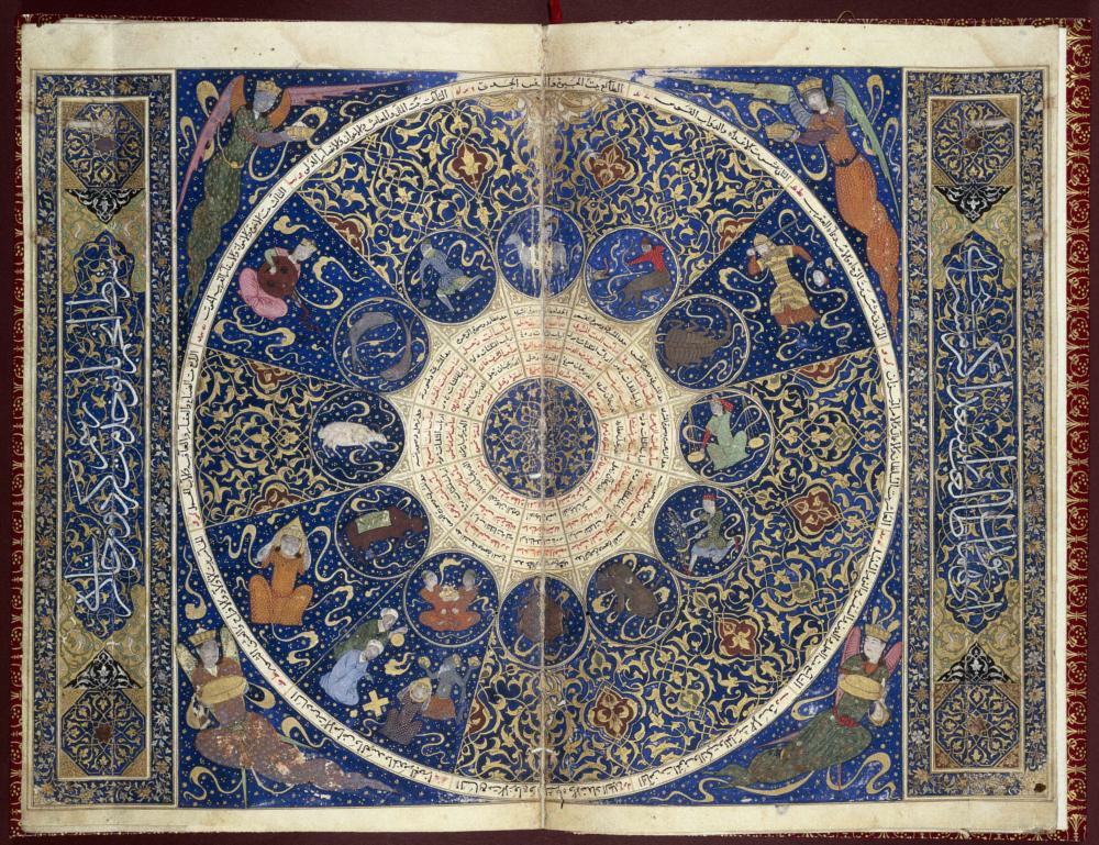 The Horoscope of Iskandar, from the Nativity Book of Iskandar Sultan ibn 'Umar Shaykh. Shiraz, Iran, 1411. © Wellcome Library, London